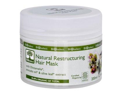 BIOselect® Přírodní restrukturalizační maska na vlasy 200ml Bioselect®