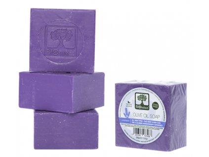 BIOselect® Přírodní olivové mýdlo s levandulí 200g BIOselect®