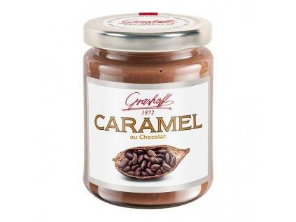 Grashoff Karamelový krém s čokoládou, sklo, 250g