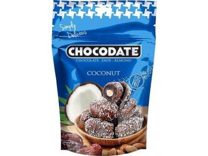 Chocodate čokodatle s mandlí s kokosem, 100g