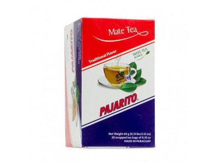 Yerba Maté Pajarito čajové sáčky 20x3g - Traditional