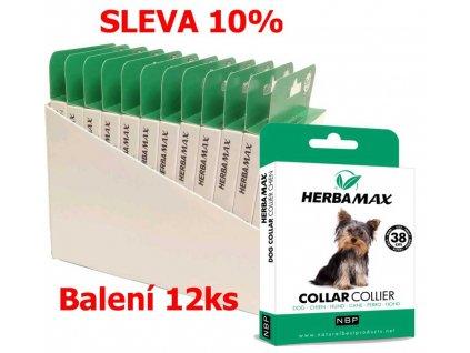 Herba Max Collar Dog antiparazitní obojek 38 cm (12 ks) SLEVA 10 %