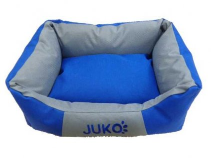 Pelíšek odolný JUKO modrá XL 89x70x20 cm