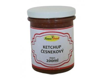 Ketchup česnekový 200ml NOVAFOOD