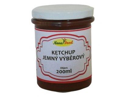 Ketchup výběrový jemný 200ml NOVAFOOD
