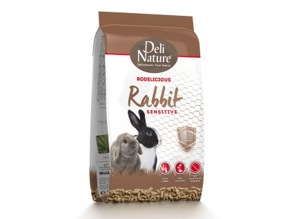 Deli Nature Rodelicious Sensitive králík 2 kg