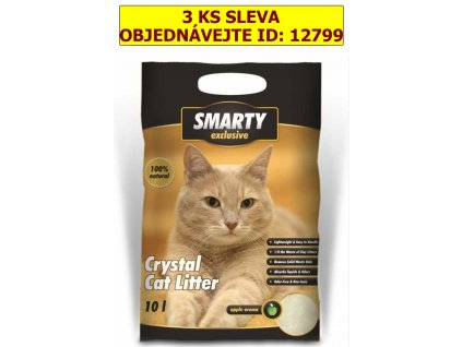 SMARTY exclusive silikátové stelivo 10 l