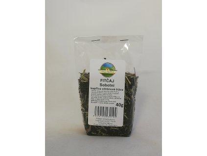 Sobotní kopřiva citrónová tráva - FIT Kopřivový čaj 40g Dary Rychleb