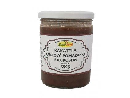 Kakatela - kakaová pomazánka s kokosem 350ml Novafood