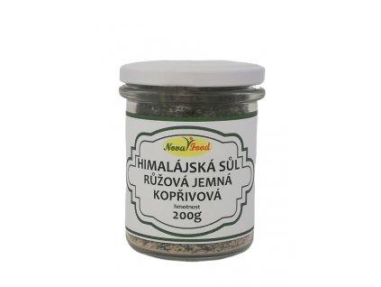 Himalajská Kopřivová sůl 200g Novafood
