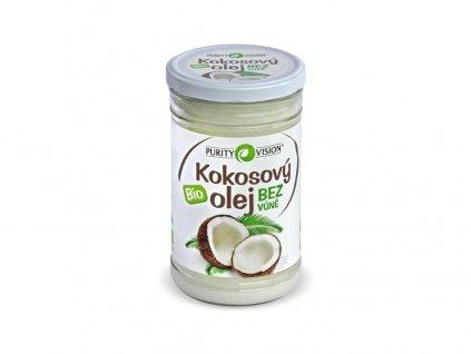 Akce Bio kokosový olej bez vůně 900ml Purity Vision