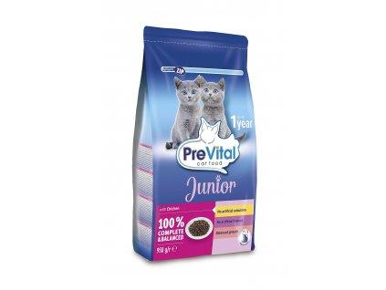 Akce PreVital granule kočka JUNIOR 0,95kg