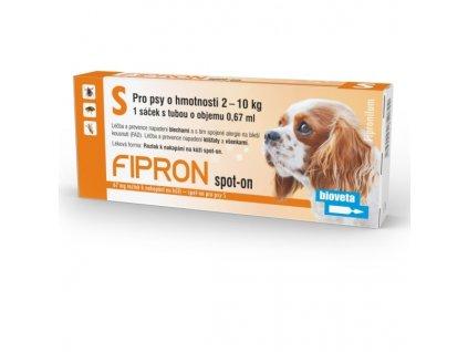 AKCE Fipron 67mg spot-on pro psy S 1x0,67 ml