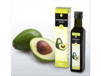health link bio avokadovy olej 250ml