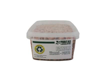 Fazole žíhaná Pinto Puritas® 950g VRATNÝ OBAL