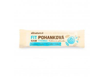 Allnature Bezlepková pohanková tyčinka kokos, datle, mandle 45 g