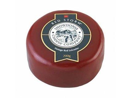 Akce Snowdonia Sýr RED STORM, extra zralý červený Leicesterský (vintage), 200g