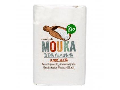 Mouka žitná celozrnná jemně mletá 1kg BIO COUNTRYLIFE