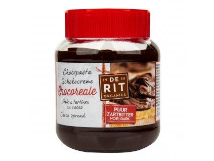 Pomazánka čokoládová hořká 350g BIO DE RIT