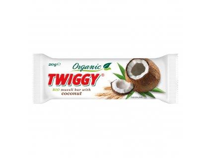 Tyčinka Twiggy müsli s kokosem 20g BIO EKOFRUKT