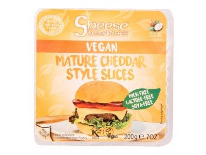 Veganská alternativa zrajícího sýru plátky 200 g SHEESE