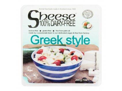 Veganská alternativa sýru greek style 200 g SHEESE