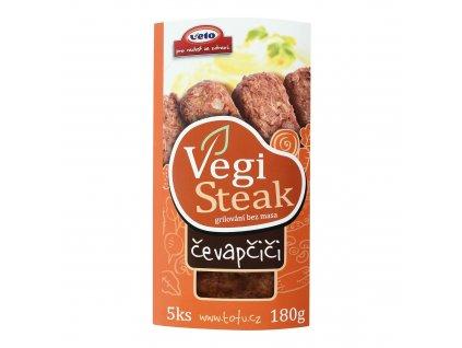 Čevapčiči veganské 180 g VETO ECO