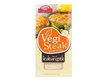 Vegi steak kukuřízek 150 g VETO ECO