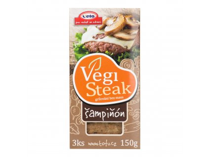 Vegi steak šampiňón 150 g VETO ECO
