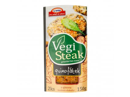 Vegi steak quinofátek 150 g VETO ECO