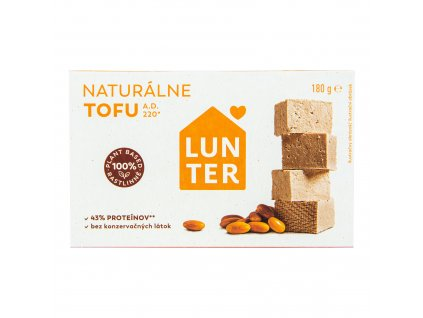 Tofu natural 180 g LUNTER