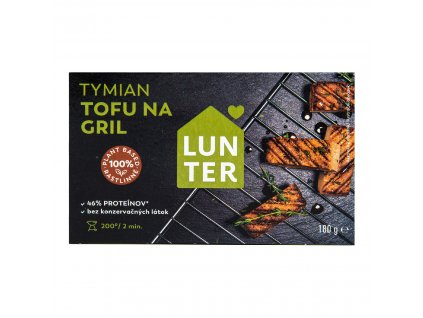 Tofu na gril Tymián 180 g LUNTER