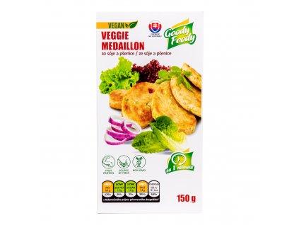 Vegetariánská alternativa kuřecích medailonků 150 g GOODY FOODY