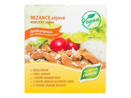 Veganské sójové nudličky ochucené 200 g GOODY FOODY