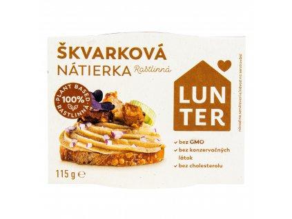 Pomazánka Škvarková 115 g LUNTER