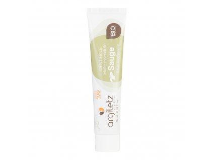 Zubní pasta se zeleným jílem šalvěj 75 ml BIO ARGILETZ