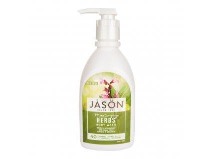 Gel sprchový byliny 887 ml JASON