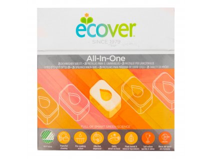 ECOVER tablety do myčky All in One 500 g
