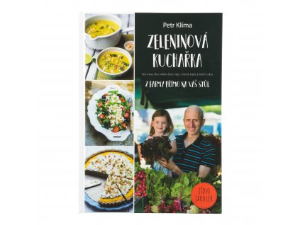 Kniha Zeleninová kuchařka Petr Klíma