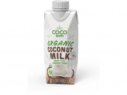 Bio Kokosové mléko na vaření 330ml Cocoxim