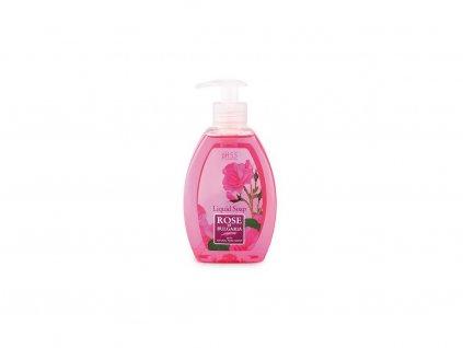 Tekuté mýdlo z růžové vody s dávkovačem 300ml Biofresh