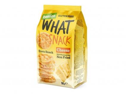 Kukuřičný slaný snack Sýr 50g Benlian