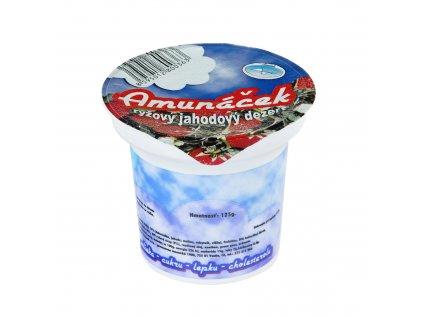 Dezert rýžový jahoda 125 g AMUNÁČEK