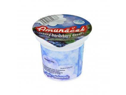 Dezert rýžový borůvka 125 g AMUNÁČEK