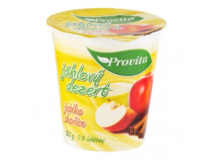 Dezert jáhlový jablko skořice 150 g PROVITA