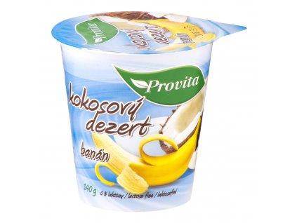Dezert kokosový banán 140 g PROVITA