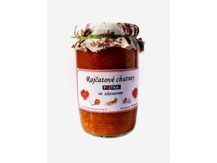 Rajčatové chutney se zázvorem 370g Fojtka
