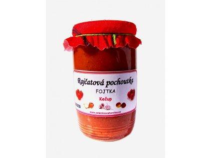 Rajčatová pochoutka - kečup ostrý 370g Fojtka