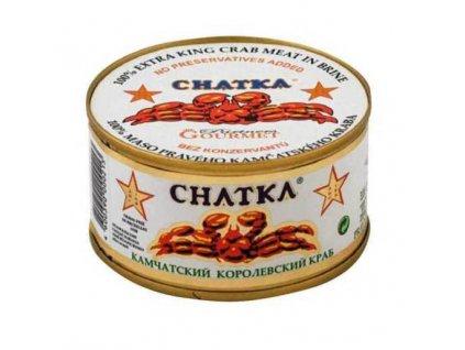 CHATKA Maso Kamčatského kraba, 100% kousky z těla,165g/110g