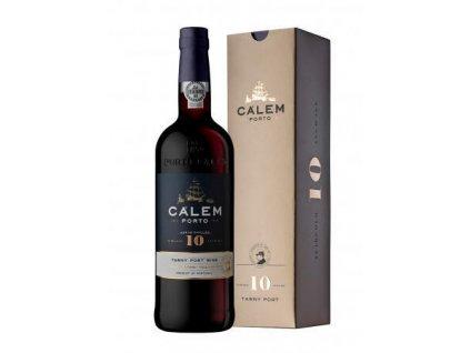 Portské víno CÁLEM 10 YEARS OLD, 0,75l